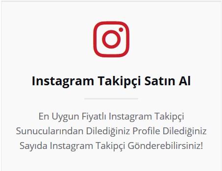 instagram takipçi satın al
